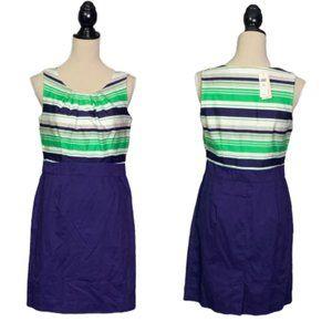 NWT Banana Republic Cotton Sheath Dress 6 Petite